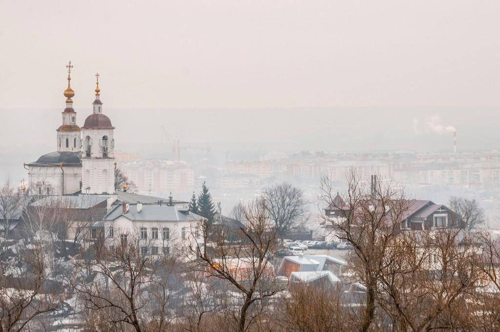 Город Владимир. Капризный март ( ветер, дождь,грязь и немного тумана) 05
