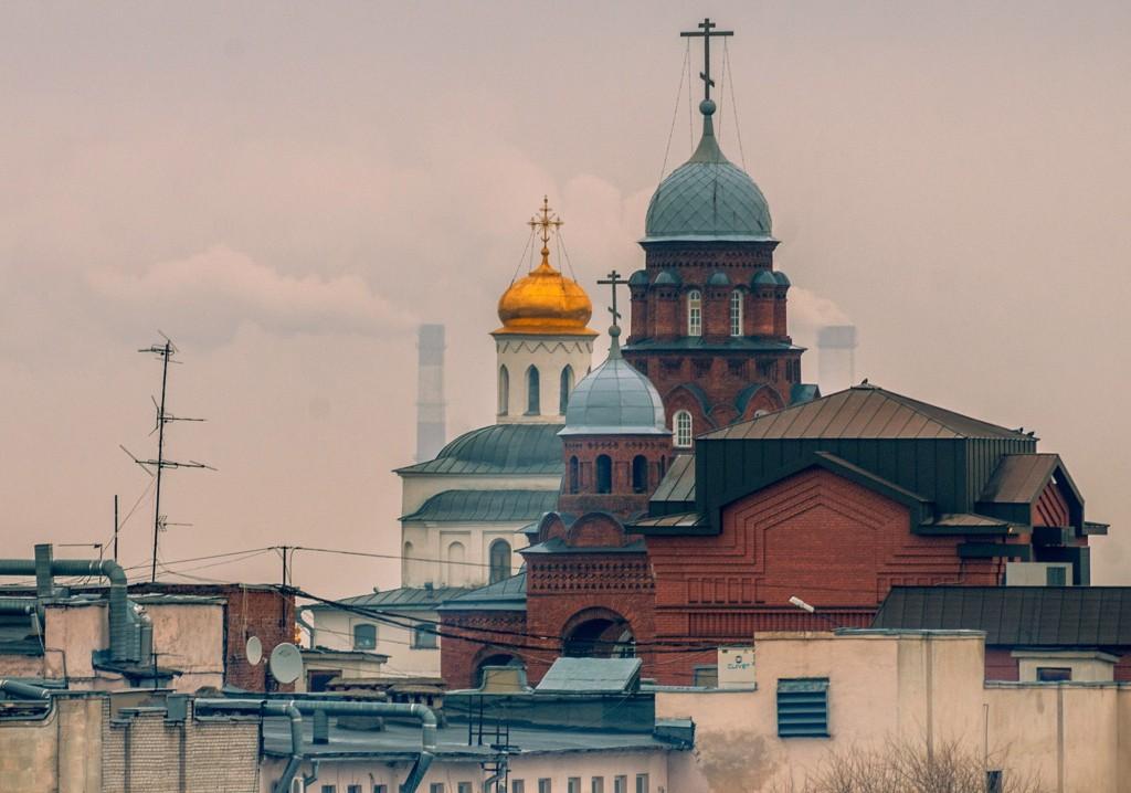 Город Владимир. Капризный март ( ветер, дождь,грязь и немного тумана) 07