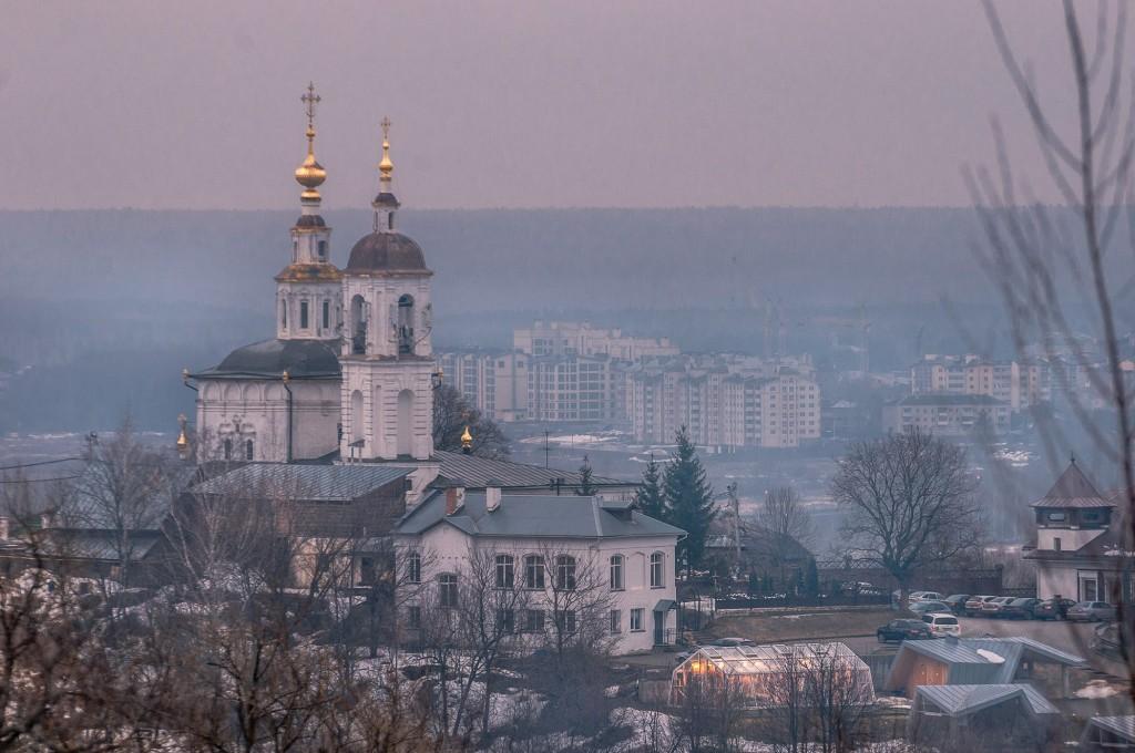 Город Владимир. Капризный март ( ветер, дождь,грязь и немного тумана) 08