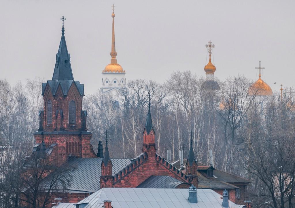 Город Владимир. Капризный март ( ветер, дождь,грязь и немного тумана) 09