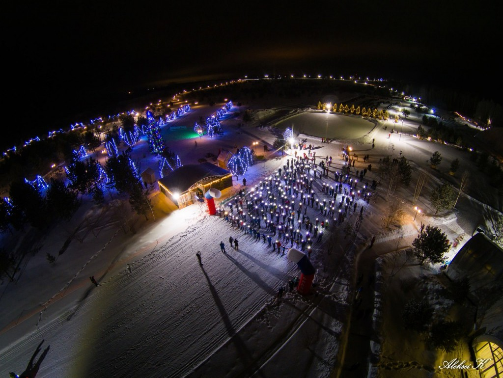 Зимний Гудвилл с высоты 02