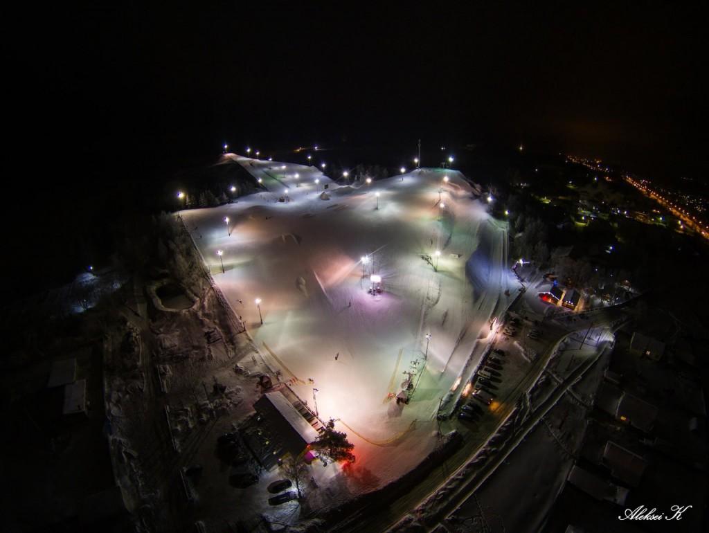 Зимний Гудвилл с высоты 06