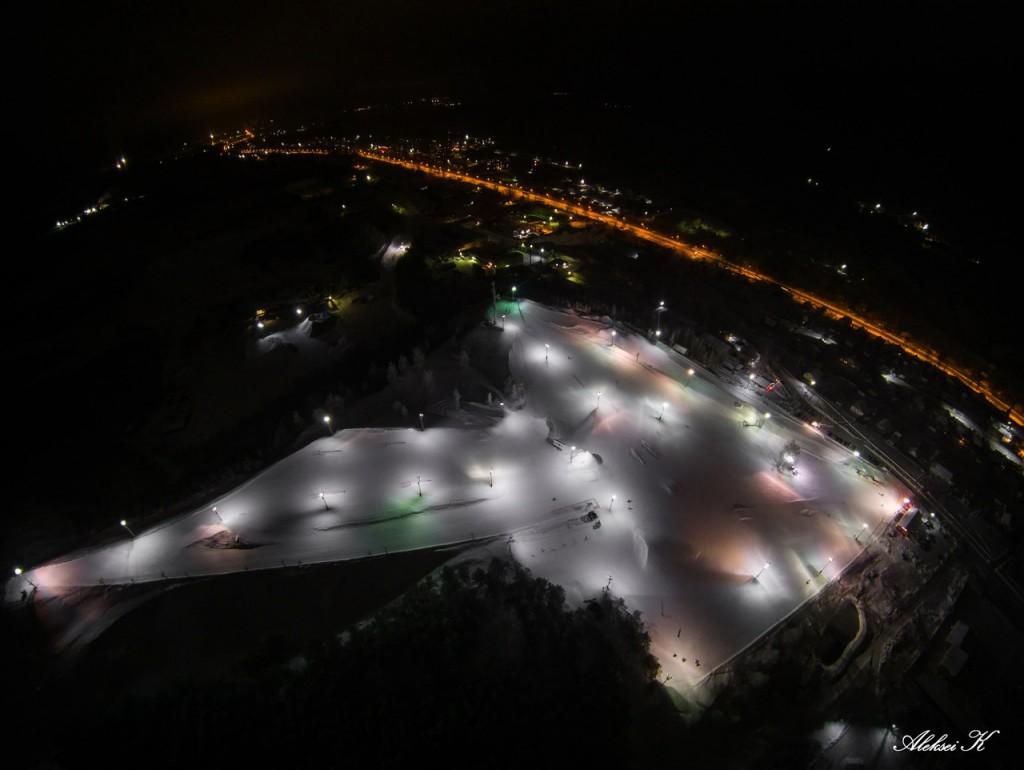 Зимний Гудвилл с высоты 07