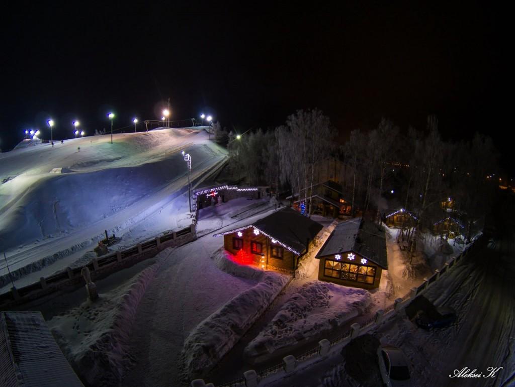 Зимний Гудвилл с высоты 08