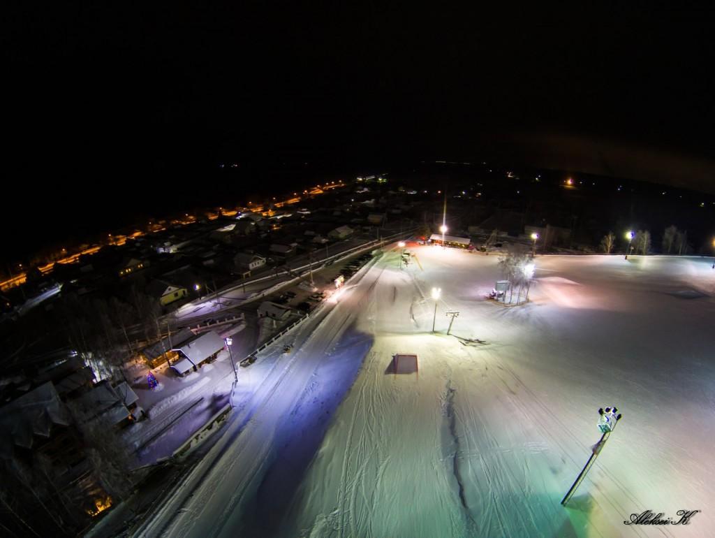 Зимний Гудвилл с высоты 09