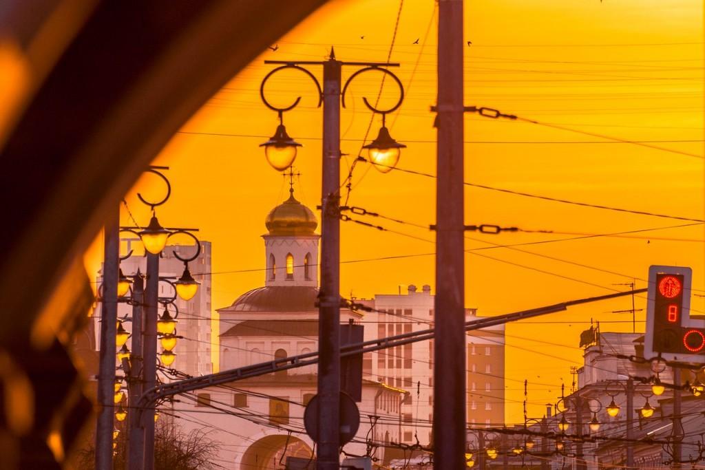 Мартовские закаты - II (во Владимире) 08