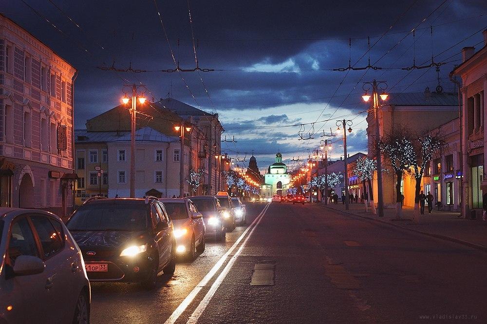 Могучие небеса над славным градом Владимиром!