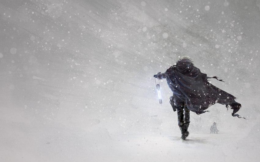 Под ногами не земля – снег