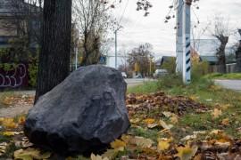 Покров, камень у дороги