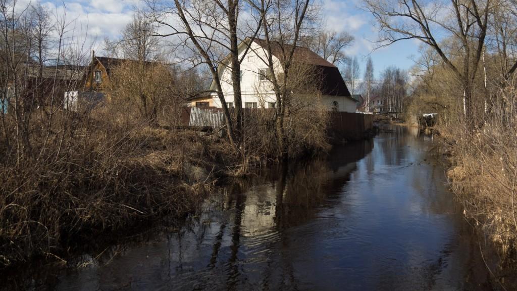 Покров, река Шитка. У истока реки, среднее течение, ближе к болоту 02