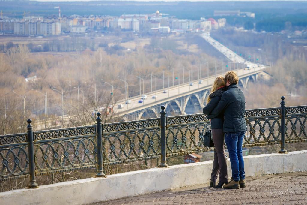 Романтика на смотровой во Владимире