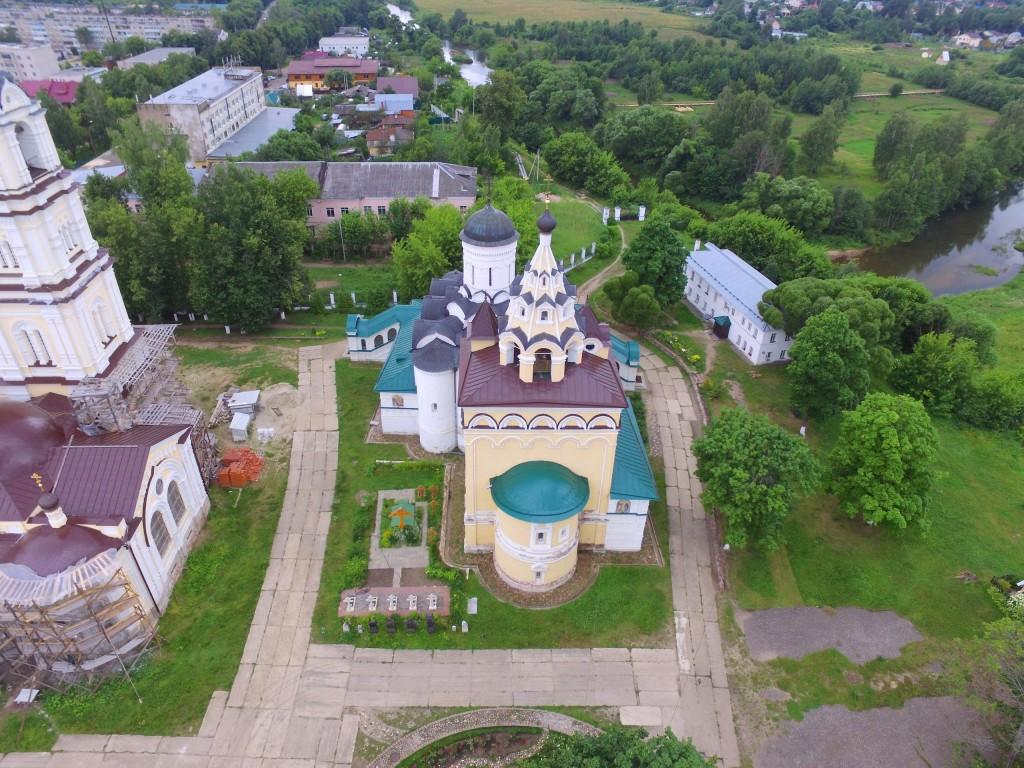 Собор Благовещения Пресвятой Богородицы Благовещенского монастыря в Киржаче 02