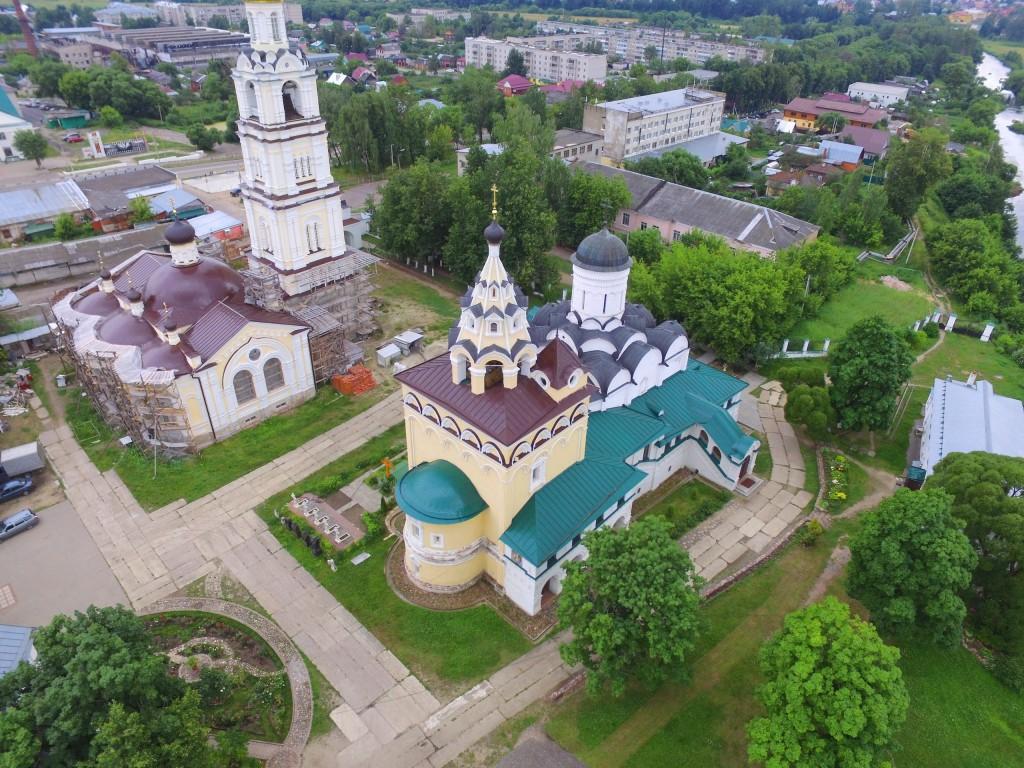 Собор Благовещения Пресвятой Богородицы Благовещенского монастыря в Киржаче 03