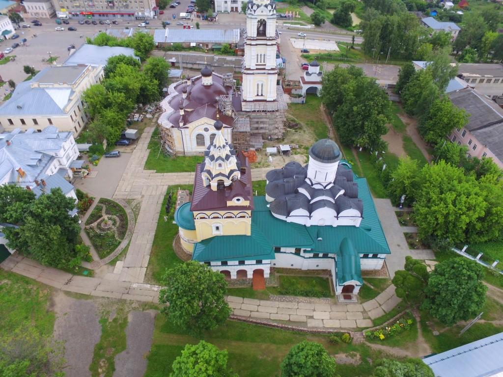 Собор Благовещения Пресвятой Богородицы Благовещенского монастыря в Киржаче 04
