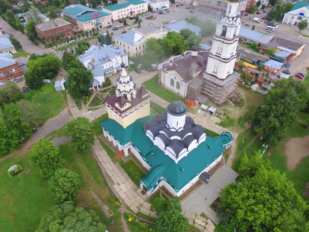 Собор Благовещения Пресвятой Богородицы Благовещенского монастыря в Киржаче 05