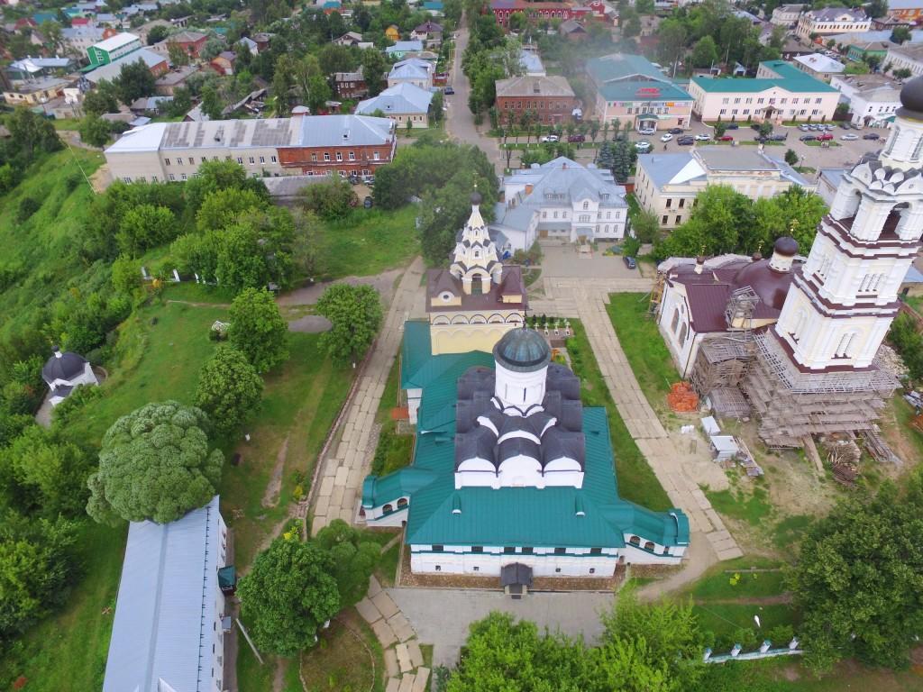 Собор Благовещения Пресвятой Богородицы Благовещенского монастыря в Киржаче 06