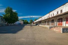 Советская площадь в Юрьев-Польском. Лето