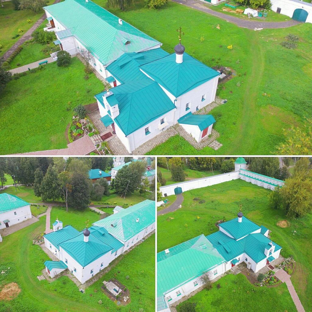 Храм Сретения Господня Успенского монастыря в городе Александров 01