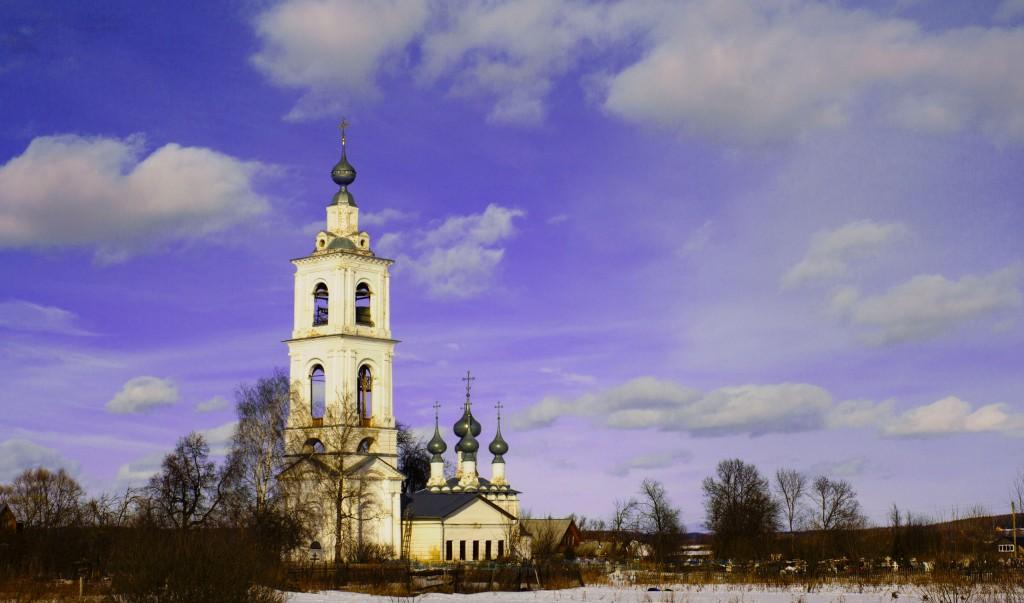 Церковь Михаила Архангела в селе Бабаево