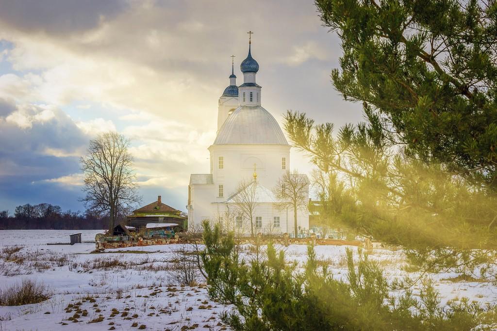 Церковь Николая Чудотворца в Устье