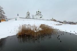 поселок Мстёра на реке Мстёрке, Вязниковский р-н