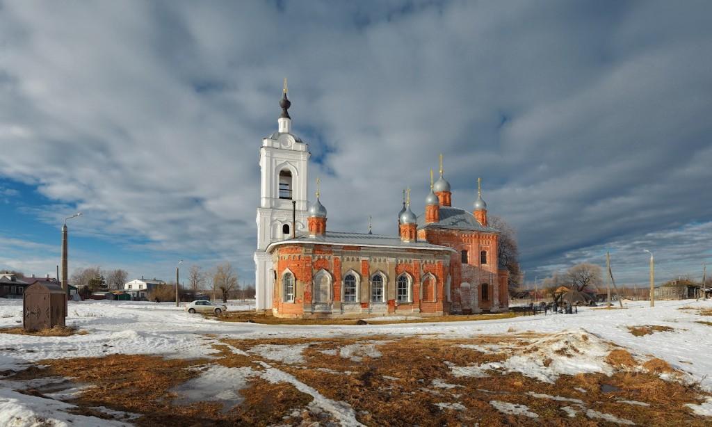 село Палашкино, Камешковский р-н Казанская церковь, 1862