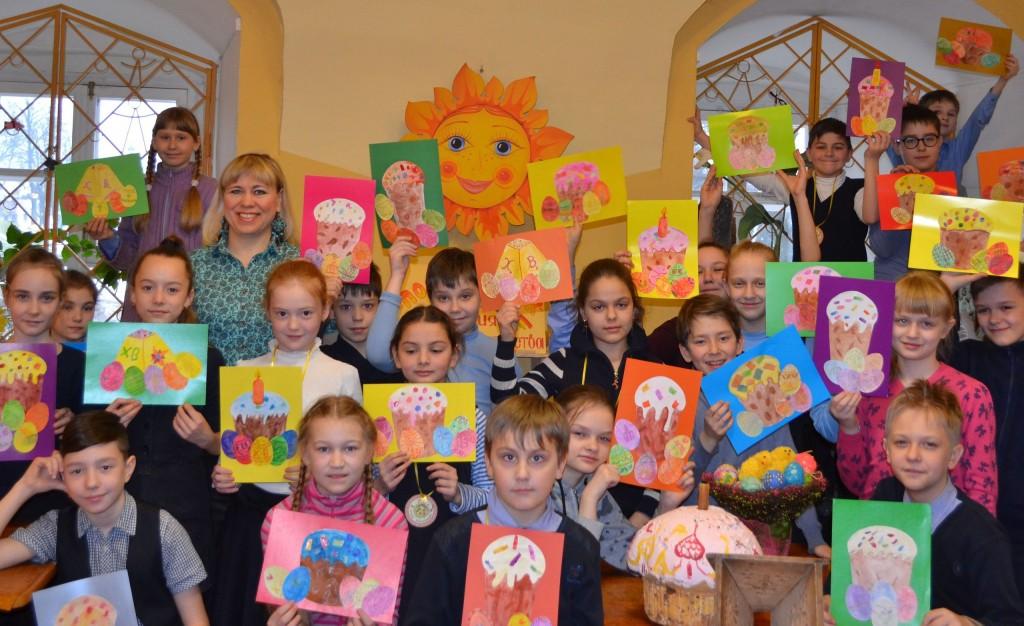 «Радость светлых дней», пасхальный конкурс для детей 05