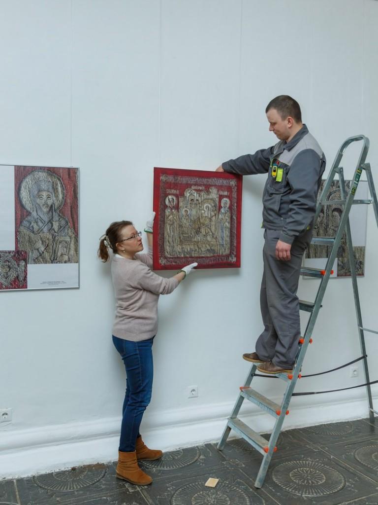 Выставка «Шитый золотом узор», Суздаль 04