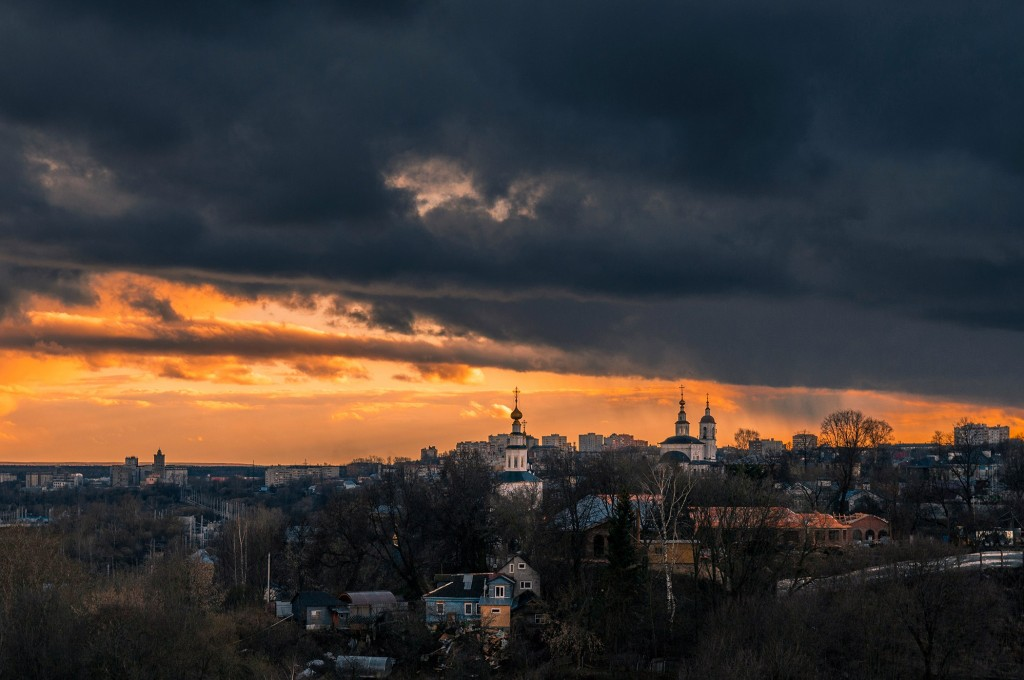 Еще немного апрельских закатов в ленту (апрель, место действия Владимир) 03