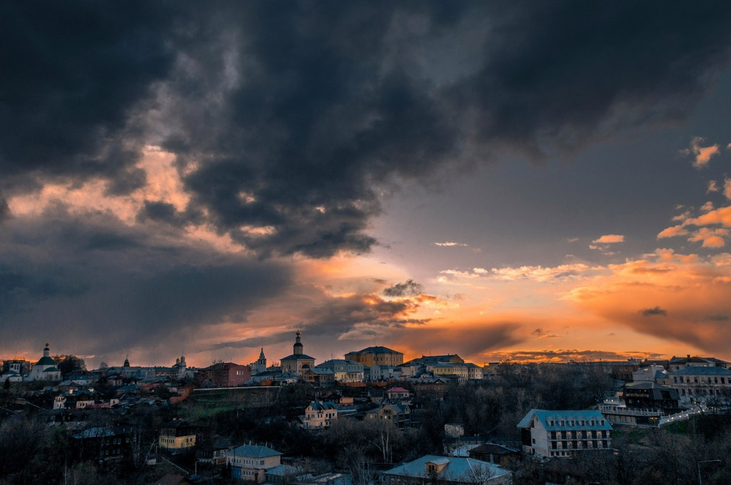 Еще немного апрельских закатов в ленту (апрель, место действия Владимир) 06