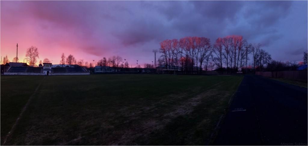 Красивейший закат в г.Вязники. Небо пылало красками! 01