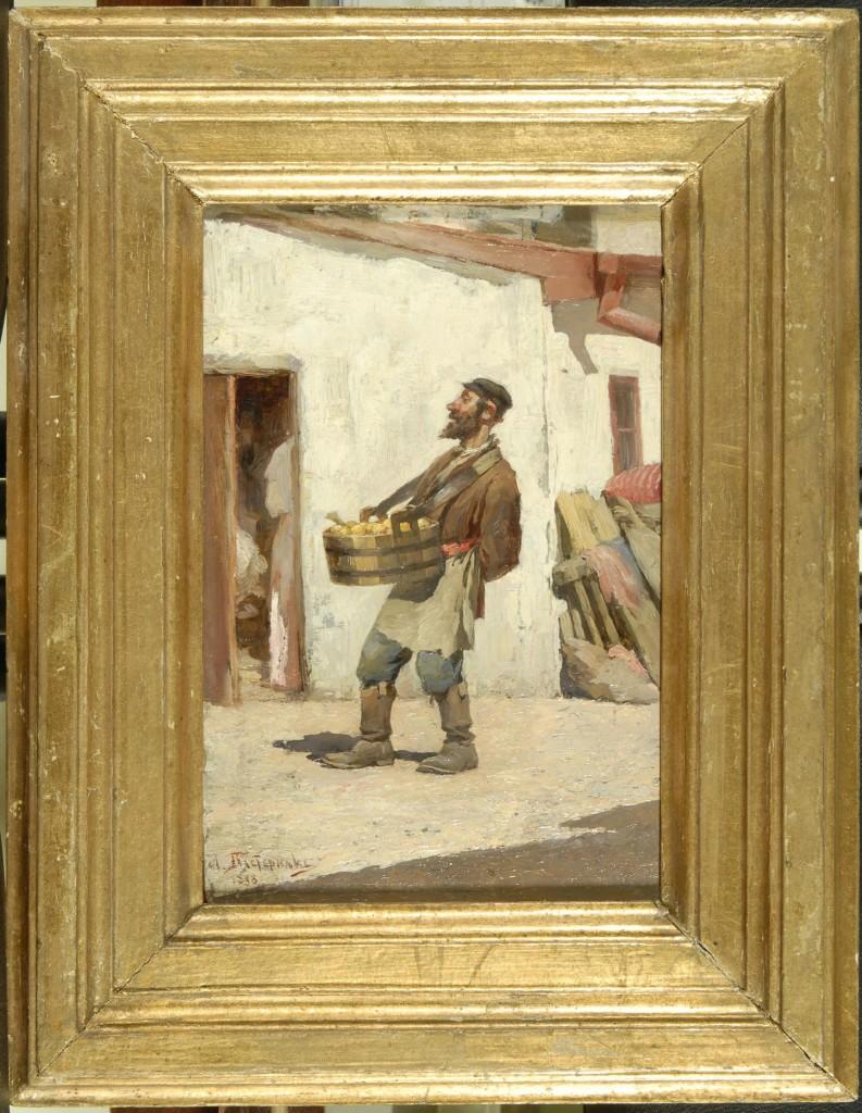 На выставке «Грани таланта» (ко Дню Рождения Пастернака) 03