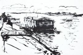 Пристань на Оке. Муром. 1998