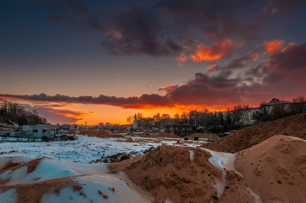 Про удивительные закаты в стороне Владимирской... (на исходе марта) 02