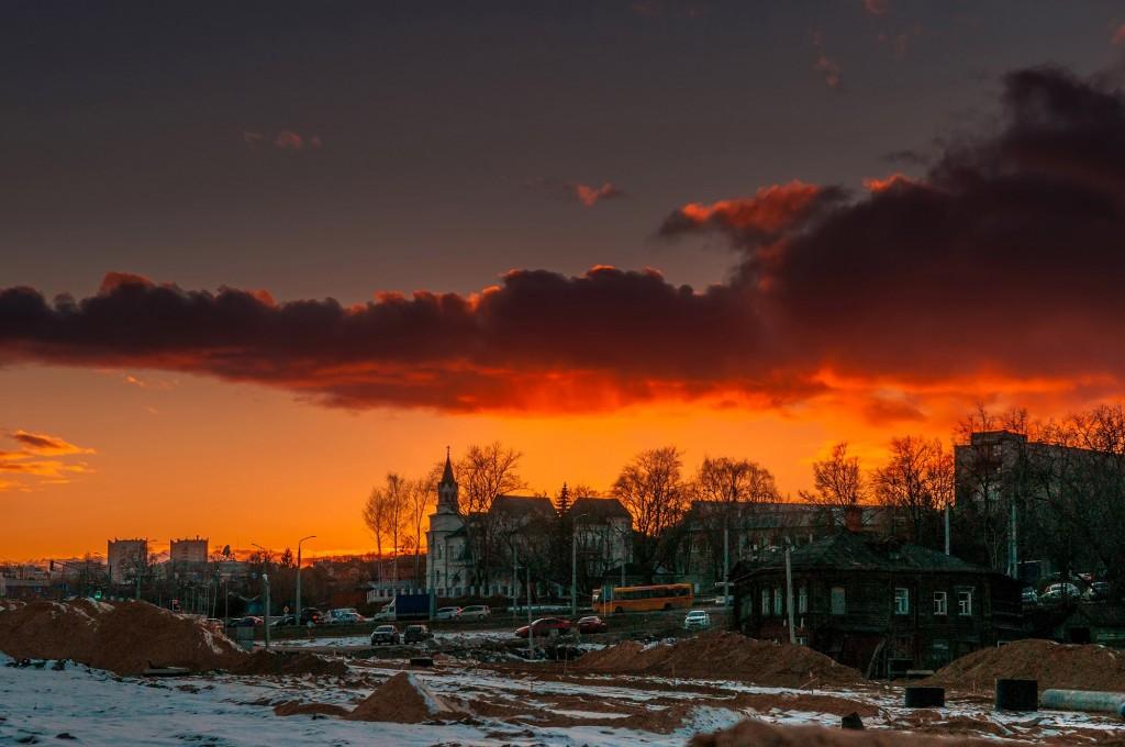 Про удивительные закаты в стороне Владимирской... (на исходе марта) 03