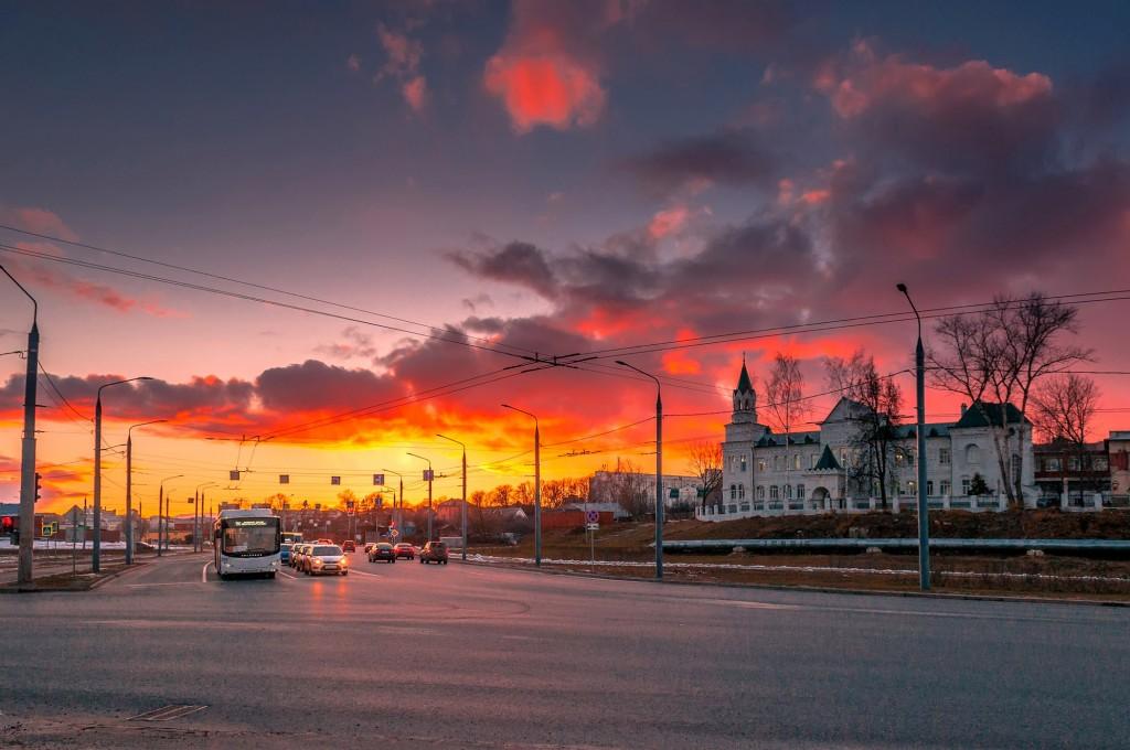Про удивительные закаты в стороне Владимирской... (на исходе марта) 05