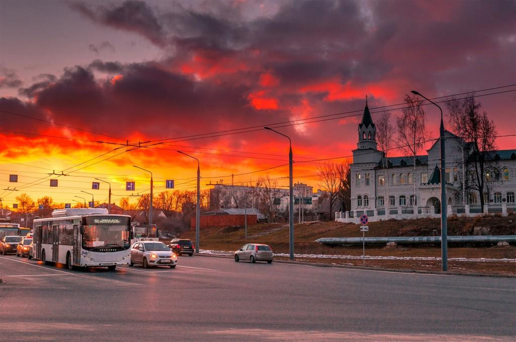 Про удивительные закаты в стороне Владимирской... (на исходе марта) 06