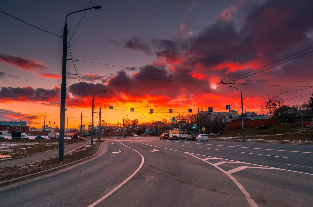 Про удивительные закаты в стороне Владимирской... (на исходе марта) 07