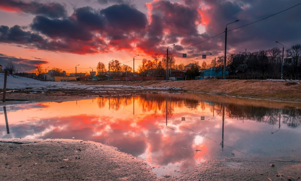 Про удивительные закаты в стороне Владимирской... (на исходе марта) 09