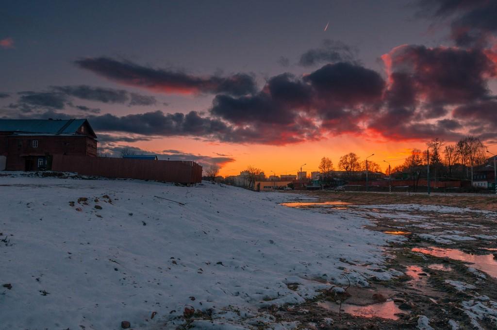 Про удивительные закаты в стороне Владимирской... (на исходе марта) 10