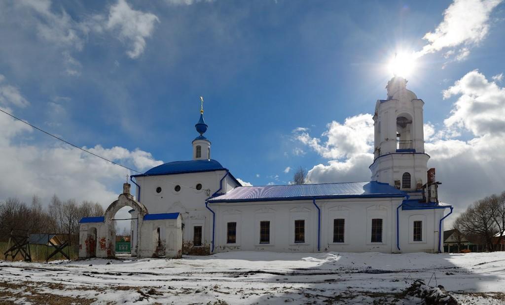 Рождественская церковь, 1868 село Баскаки, Суздальский р-н