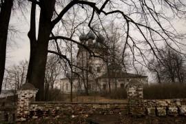 Село Большие Всегодичи. Церковь Успения Пресвятой Богородицы.