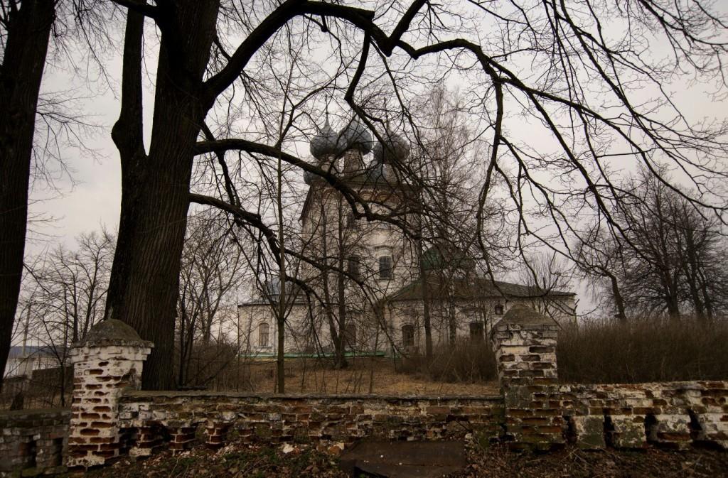Село Большие Всегодичи. Церковь Успения Пресвятой Богородицы 01