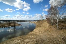 Село Малые Всегодичи Ковровского района, март 2017