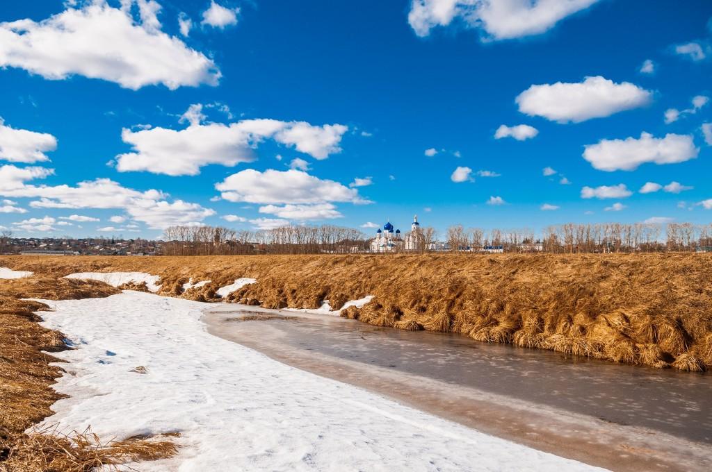 Солнечное Покрова-на-Нерли (конец марта) 01