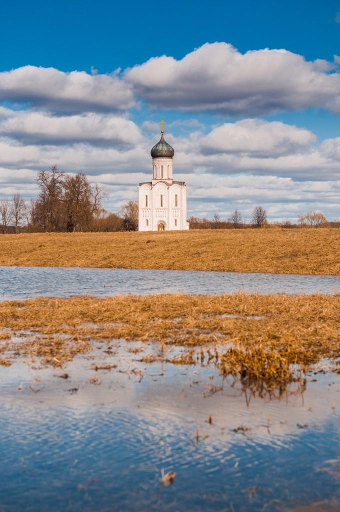 Солнечное Покрова-на-Нерли (конец марта) 03