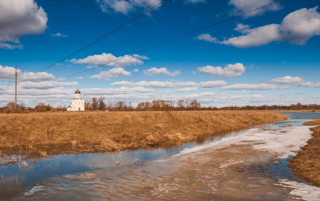 Солнечное Покрова-на-Нерли (конец марта) 04