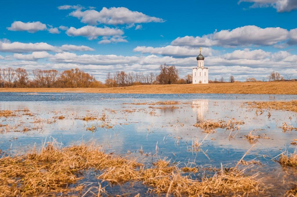 Солнечное Покрова-на-Нерли (конец марта) 05
