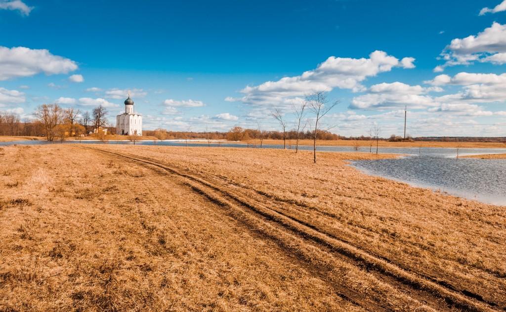 Солнечное Покрова-на-Нерли (конец марта) 09