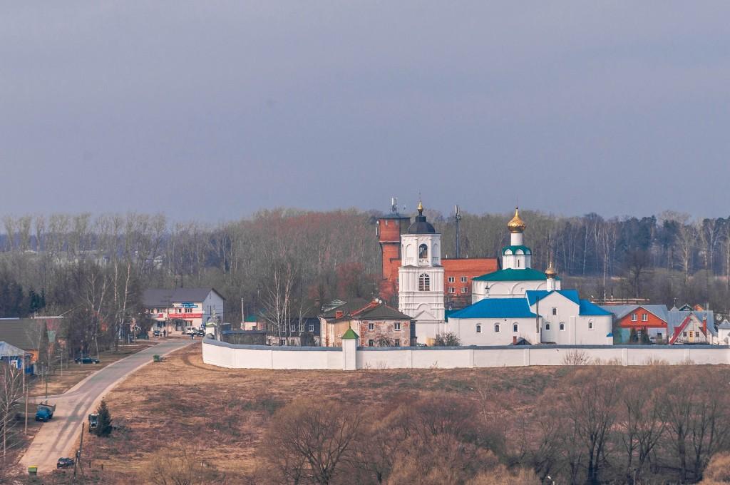 Суздаль и Михайлова Сторона, пасмурно, апрель 04